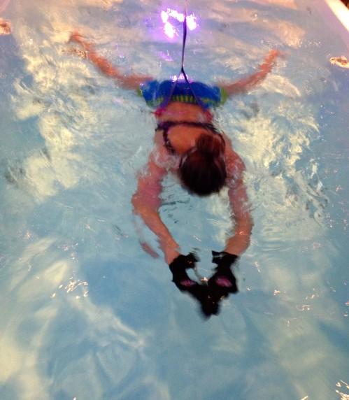 swimming ataxia